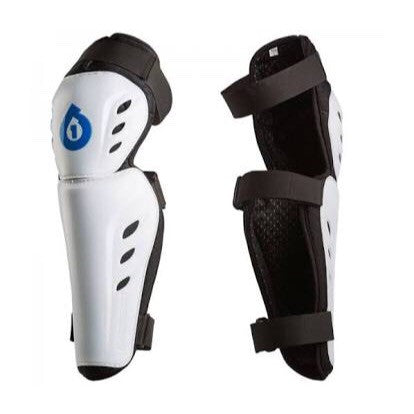 SixSixOne Comp Knee/Shin Guard - White