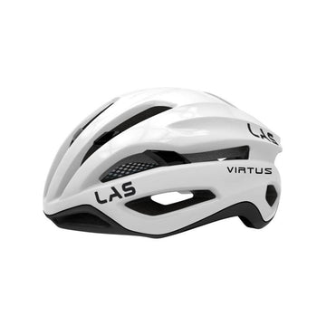 LAS Virtus Helmet - White/Black - SpinWarriors