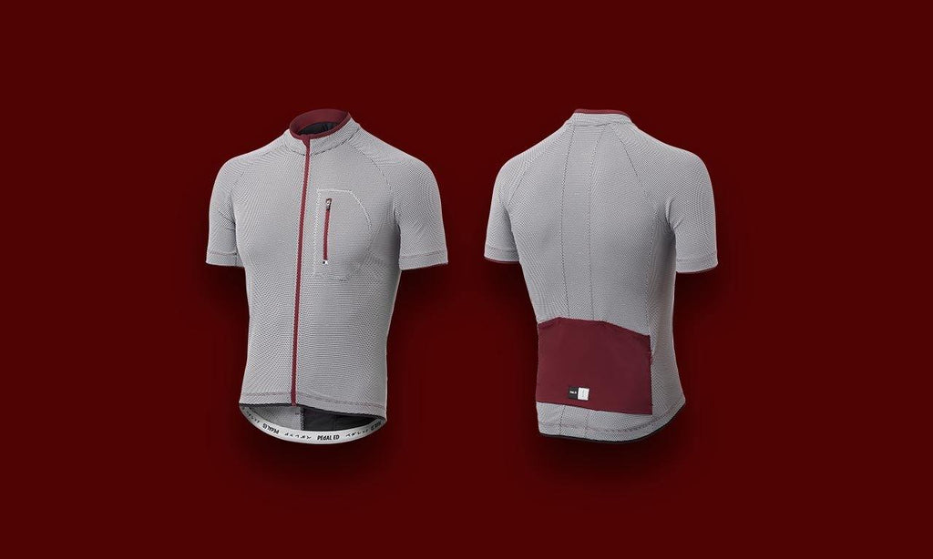 PeDALED Narita Carbon Jersey - Bordeaux