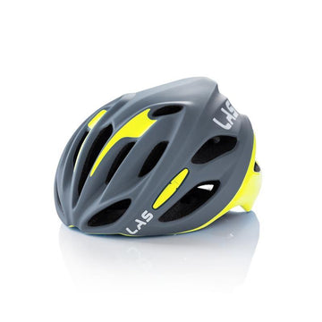 LAS Cobalto Helmet - Matte Grey/Yellow - SpinWarriors
