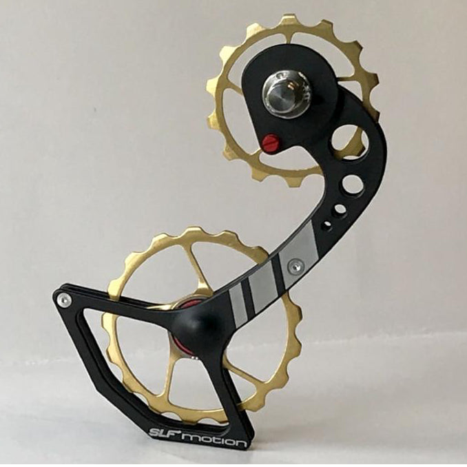 SLF Motion Hyper Speed System for New Shimano - Black Cage/Gold Wheel