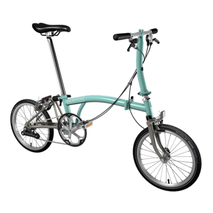 Brompton S2E 2018 - Turkish Green/Titanium