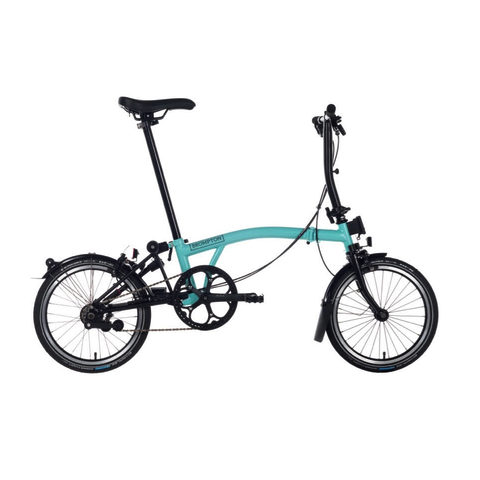 Brompton S6L 2018 Black Editon - Turkish Green