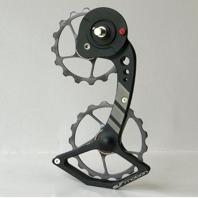 SLF Motion Hyper Speed System for SRAM Mechanical - Black Cage/Gunmetal Grey Wheel