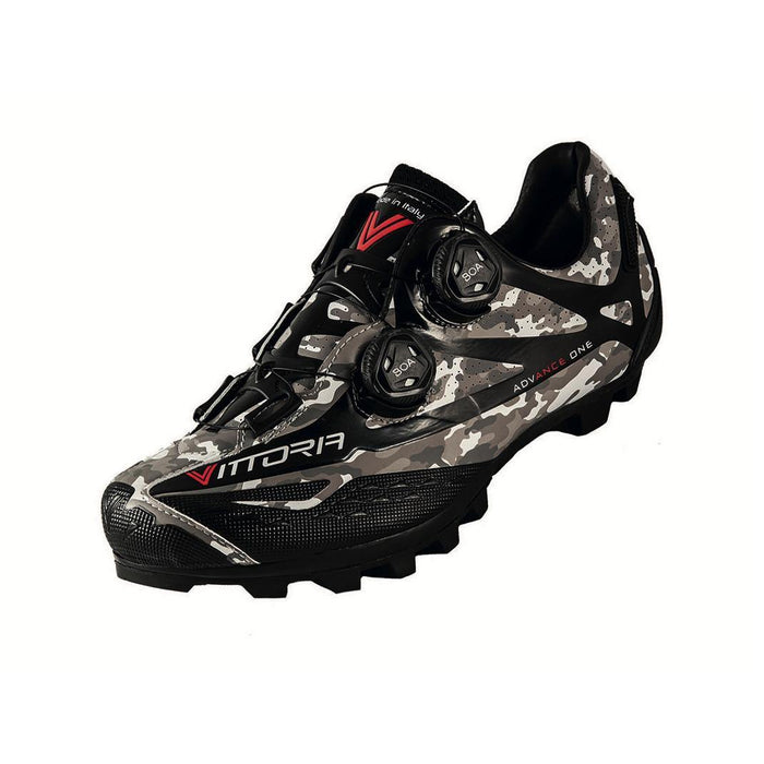 Vittoria Ikon Comp MTB Shoes - Grey Camo