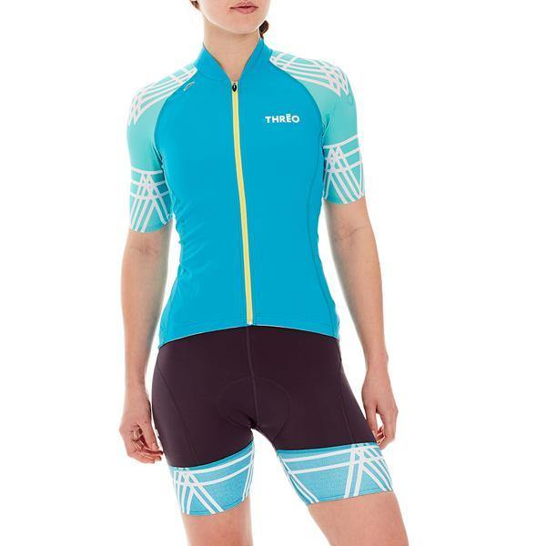 Threo Woman Cycling Jersey - Fleet Moss