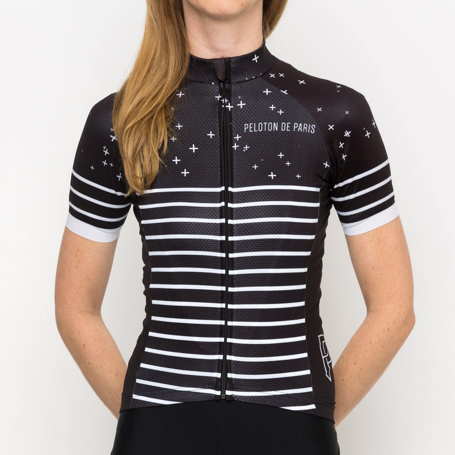 Peloton de Paris Galaxy Woman Jersey - SpinWarriors