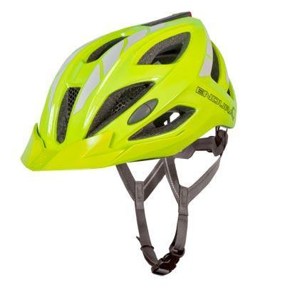 Endura Luminite Helmet - Hi Viz Yellow
