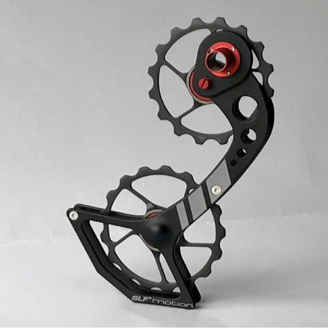 SLF Motion Hyper Speed System for Old Shimano - Black Cage/Gunmetal Grey Wheel