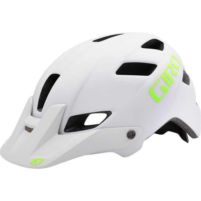 Giro Feature Helmet - Matte White/Lime