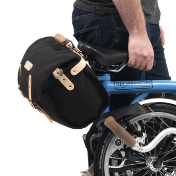 Frost+Sekers Brompton Otis SaddleBag - Black - SpinWarriors