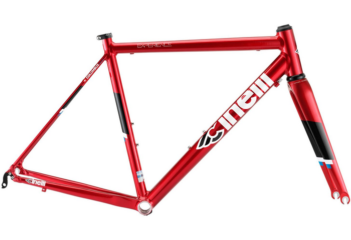 Cinelli Experience Alloy Road Frameset - Red Light