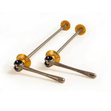 Carbon Ti X-Lock Special Road Ti Skewer - Gold - SpinWarriors