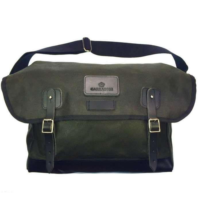 Carradice City Classic Kelbrook Satchel - Green