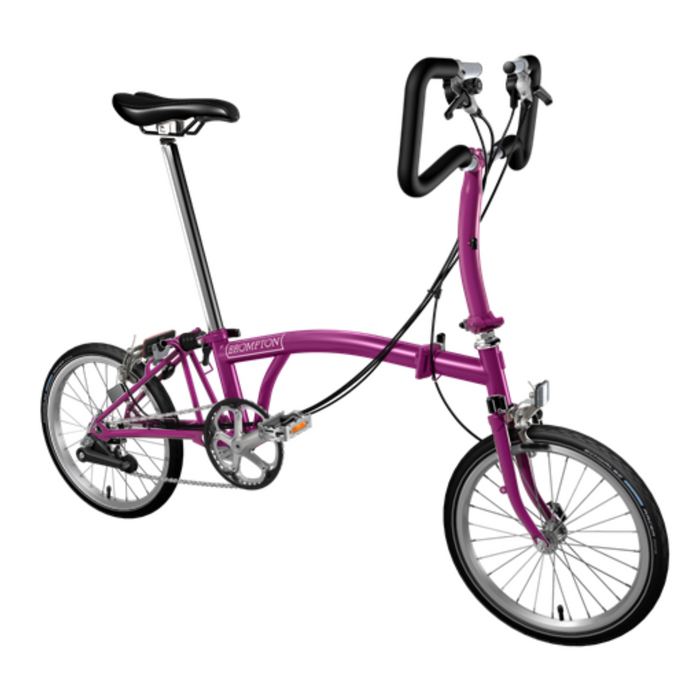 Brompton P6E 2018 - Berry Crush/Berry Crush