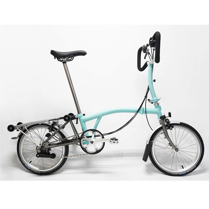 Brompton P6R 2018 - Turkish Green/Titanium