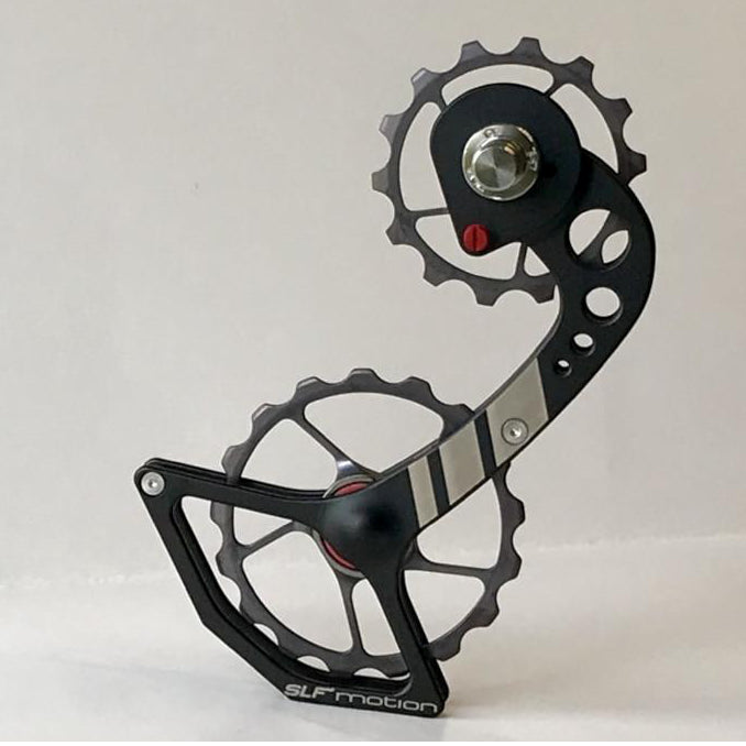 SLF Motion Hyper Speed System for New Shimano - Black Cage/Gunmetal Grey Wheel