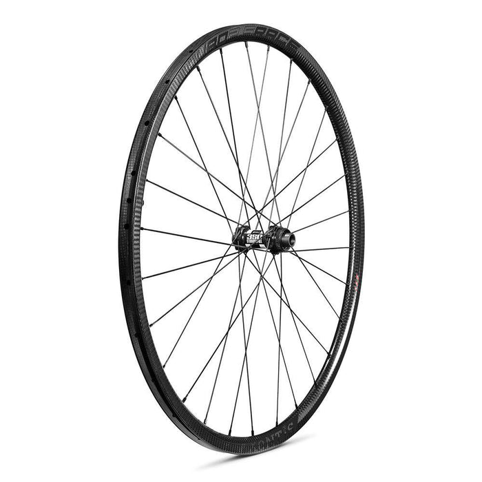 Xentis Squad 2.5 Race Tubeless Ready Carbon Clincher Disc Brake Wheelset - Black Decal
