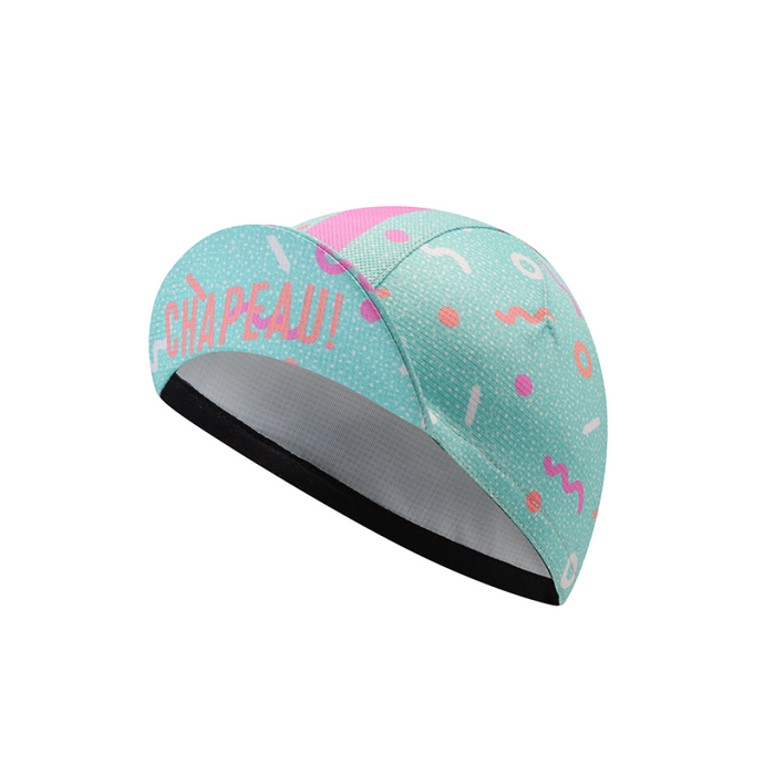 Chapeau! Lightweight Ladies Cap - Pattern Mix, Surf Blue