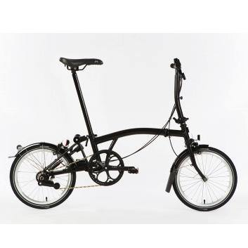 Brompton S2L Black Edition - Black - SpinWarriors