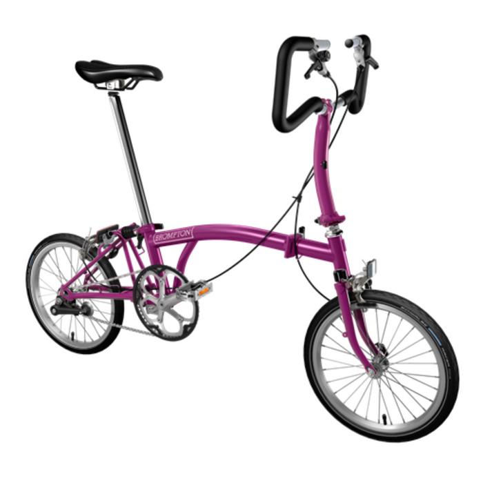 Brompton P1E 2018 - Berry Crush/Berry Crush