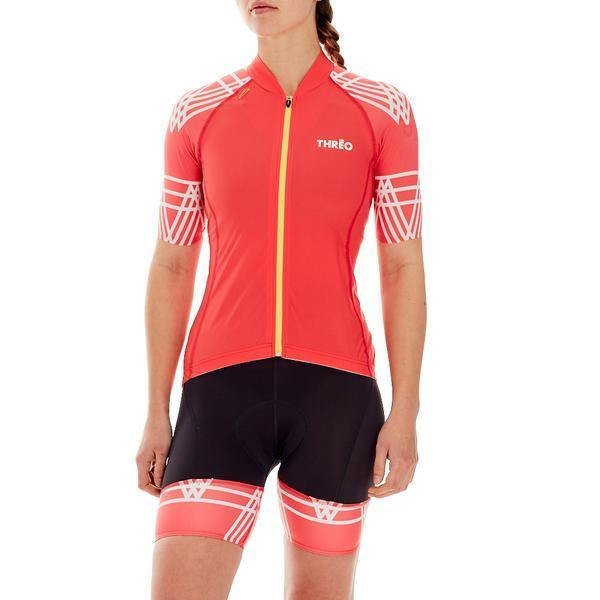 Threo Woman Cycling Jersey - Hope Valley