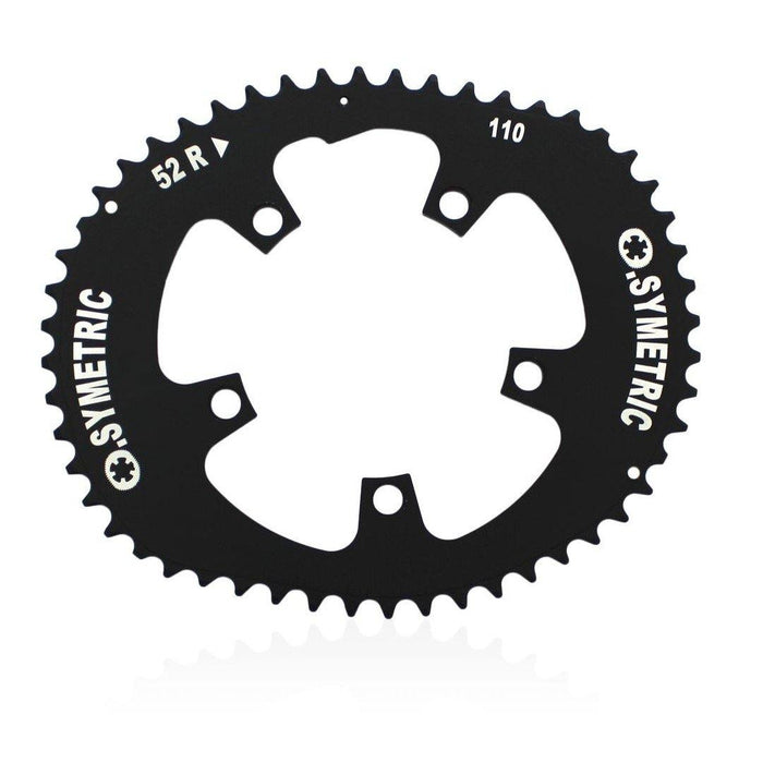 Osymetric 5 Bolts BCD 110mm - 52T Chain Ring