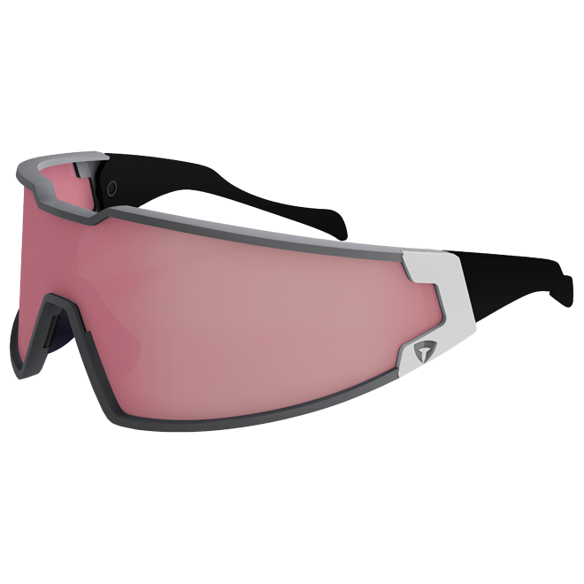 Briko Shot Evoluzione Sunglasses - Matte Silver Steam/White Ash