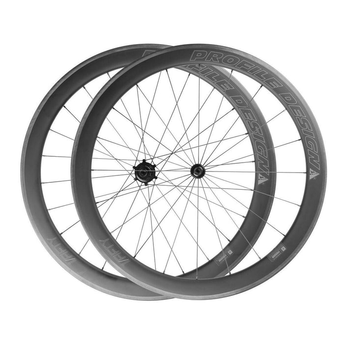 Profile Design 1/Fifty Carbon Clincher Wheelset - Black Decal