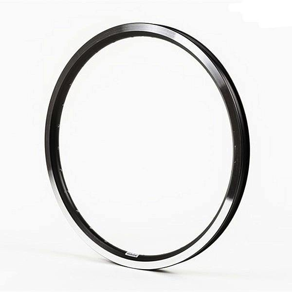 Brompton Rim ETRTO 349 Double Wall 28 Hole - Angle Drilled (Black)