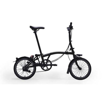 Brompton M2L Black Edition - Black - SpinWarriors