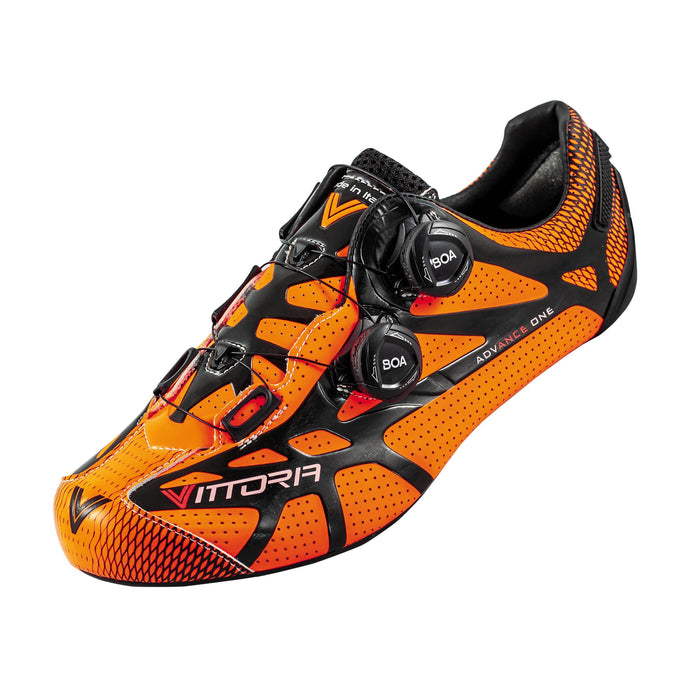 Vittoria Ikon Pro Road Shoes - Orange/Black