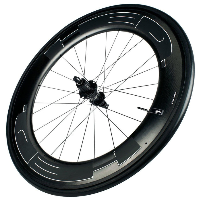 HED Jet 9 Black Rear Clincher Road Wheelset