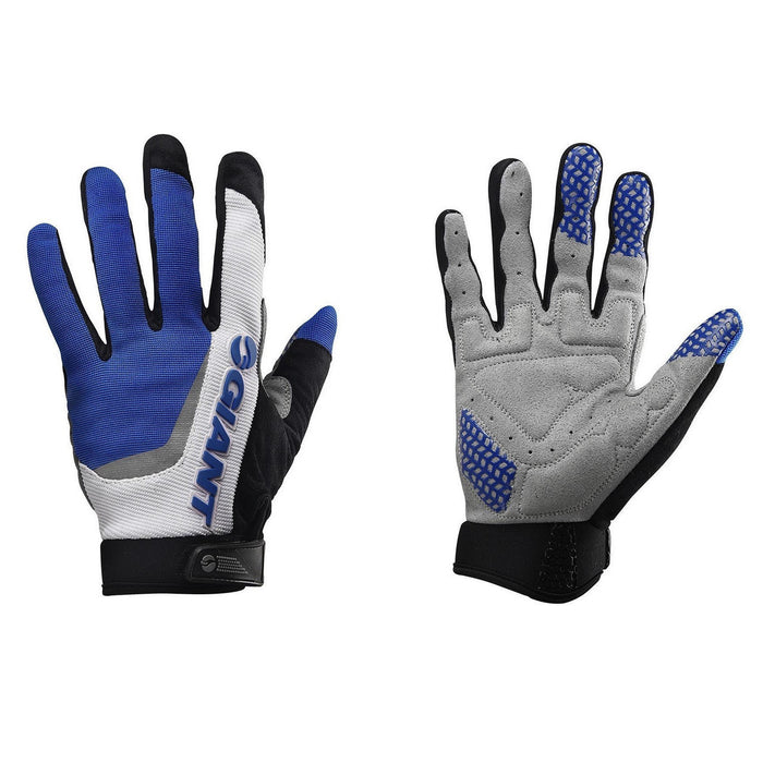 Giant Horizon Long Finger Gloves - Blue