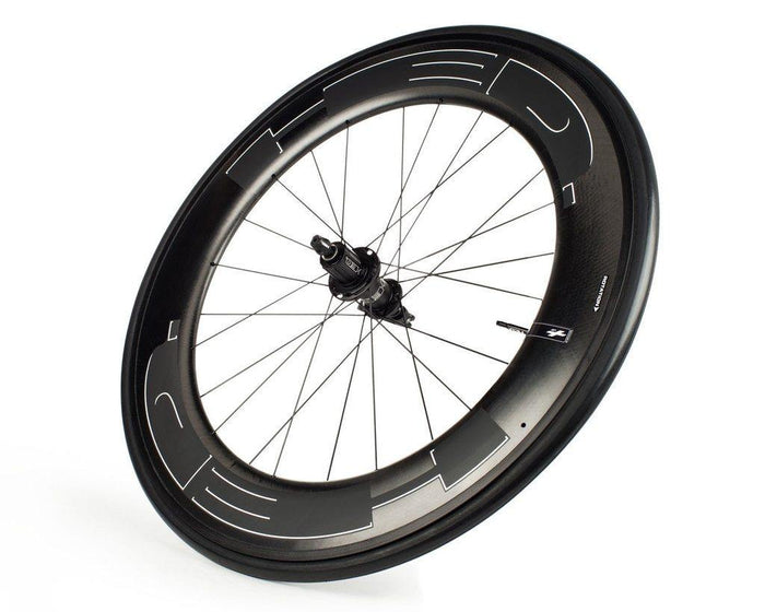 HED Jet 9 Black Clincher Road Wheelset