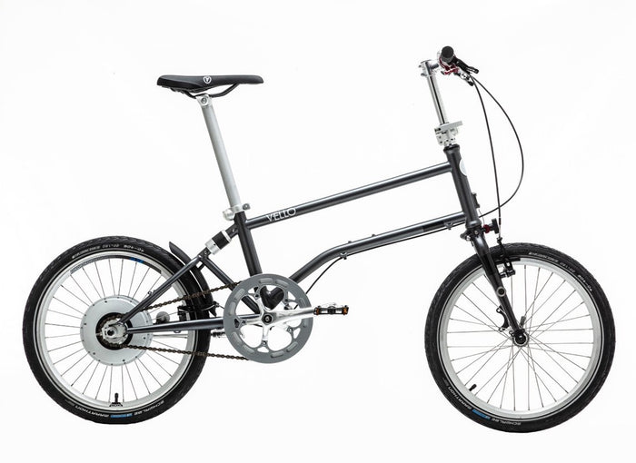 Vello Bike+ Chain Drive - The First Self-Charging Electric Folding Bike