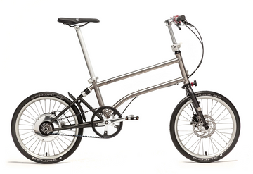 Vello Bike+ Titanium Electric Folding Bike - Speed Drive - SpinWarriors