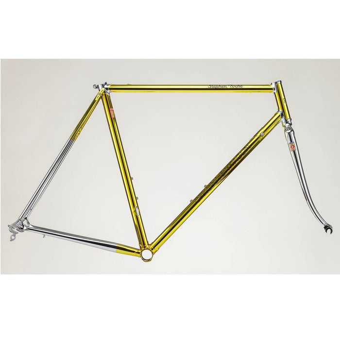 Battaglin Stephen Roche - Chrome Yellow Limited Edition Steel Frameset