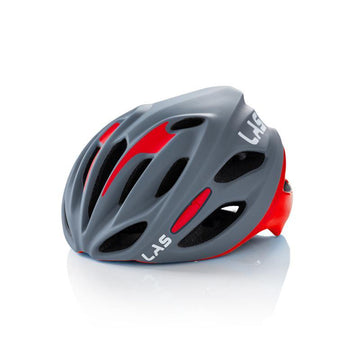 LAS Cobalto Helmet - Matte Grey/Red - SpinWarriors
