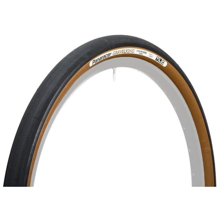 Panaracer GravelKing Tire (700x35) - Black/Brown