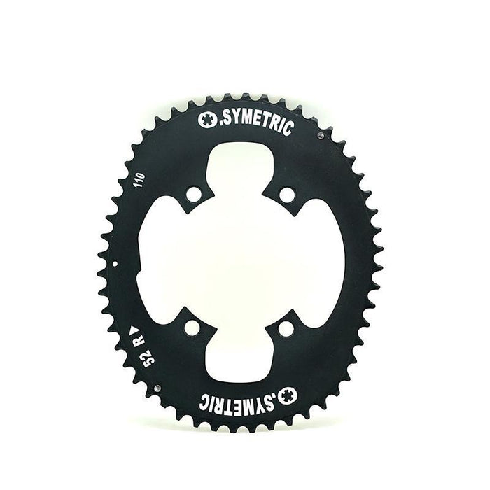 Osymetric Shimano 4 Bolt BCD 110mm - 52T Chain Ring