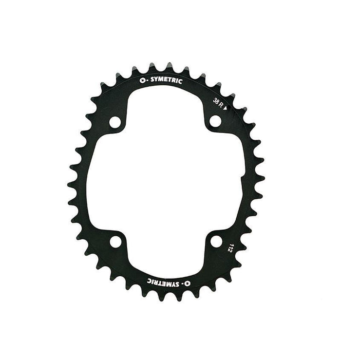 Osymetric Campagnolo 4 Bolts BCD 112mm - 38T Chain Ring