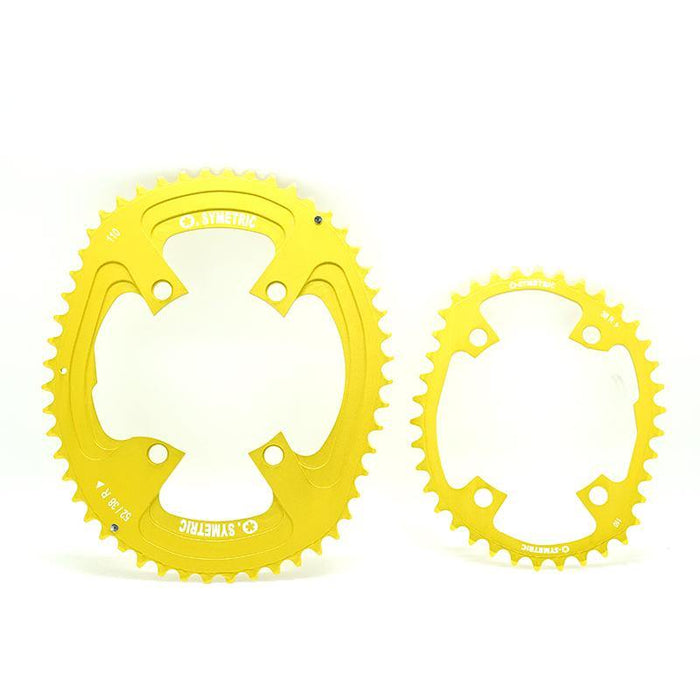 Osymetric New Shimano 4 Bolts BCD 110 - 52/38 Chain Ring (Tour de France Limited Edition)