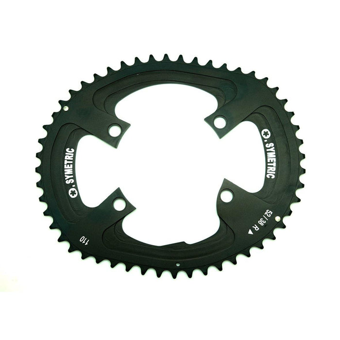 Osymetric New Shimano 4 Bolts BCD 110mm - 52T Chain Ring