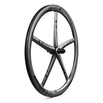 Xentis Mark3 Tubeless Ready Carbon Clincher Disc Brake Wheelset - Black Decal (Pair) - SpinWarriors