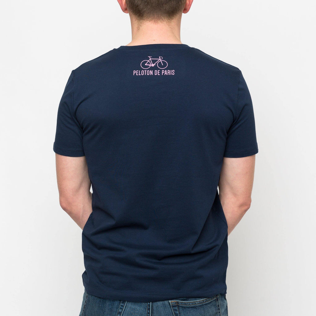Peloton de Paris The Classic Navy T-Shirt