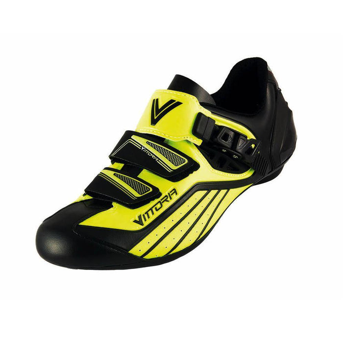 Vittoria Zoom Road Shoes - Yellow/Black