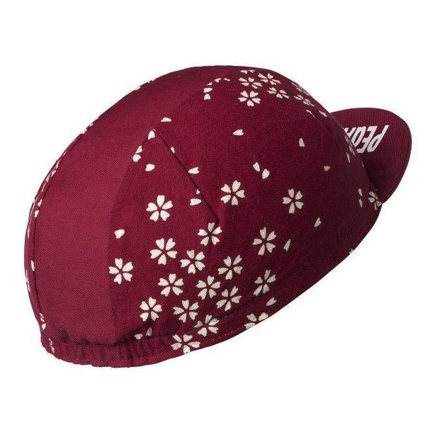 PeDAL ED Summer Cap - Bordeaux
