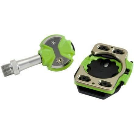 Speedplay Zero Stainless Pedal - Green