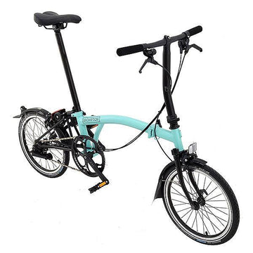 Brompton S2L Black Edition - Turkish Green - SpinWarriors